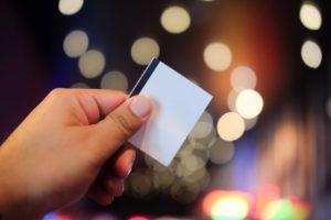 Hand hold film ticket