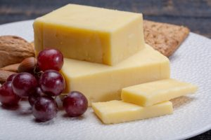 Block Of Aged Cheddar Cheese