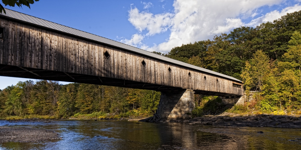 Visiting Covered Bridges is one of our favorite things to recommend to guets at our Bed and Breakfast in Brattleboro VT