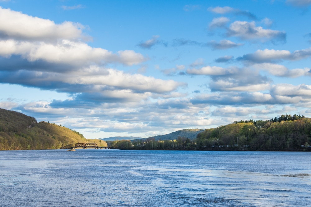 Beautiful view of the Connecticut River while enjoying all of the wonderful things to do in Brattleboro VT
